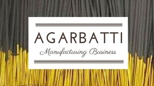 Agarbatti manufacturing