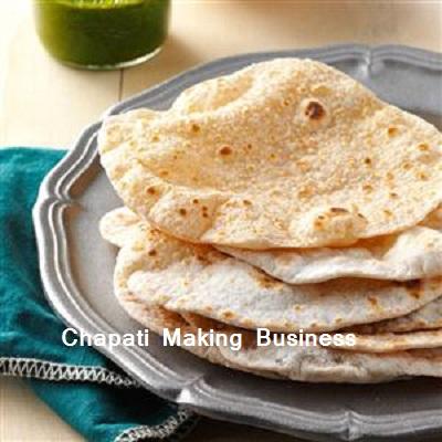 chapati making business