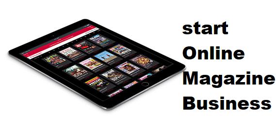 ऑनलाइन मैगजीन बिजनेस   Online Magazine Business