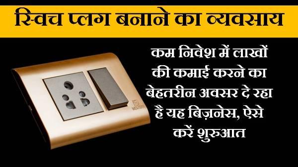 switch plug making business in hindi